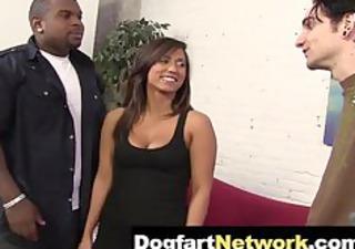 Cuckold watches his wife fuck a Black Cock