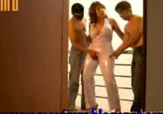 Mature Latina Horny For Two Young Hombres