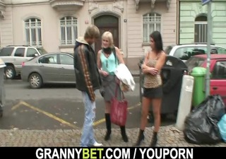 old prostitute takes it is from behind