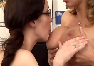 lesbo office seductions